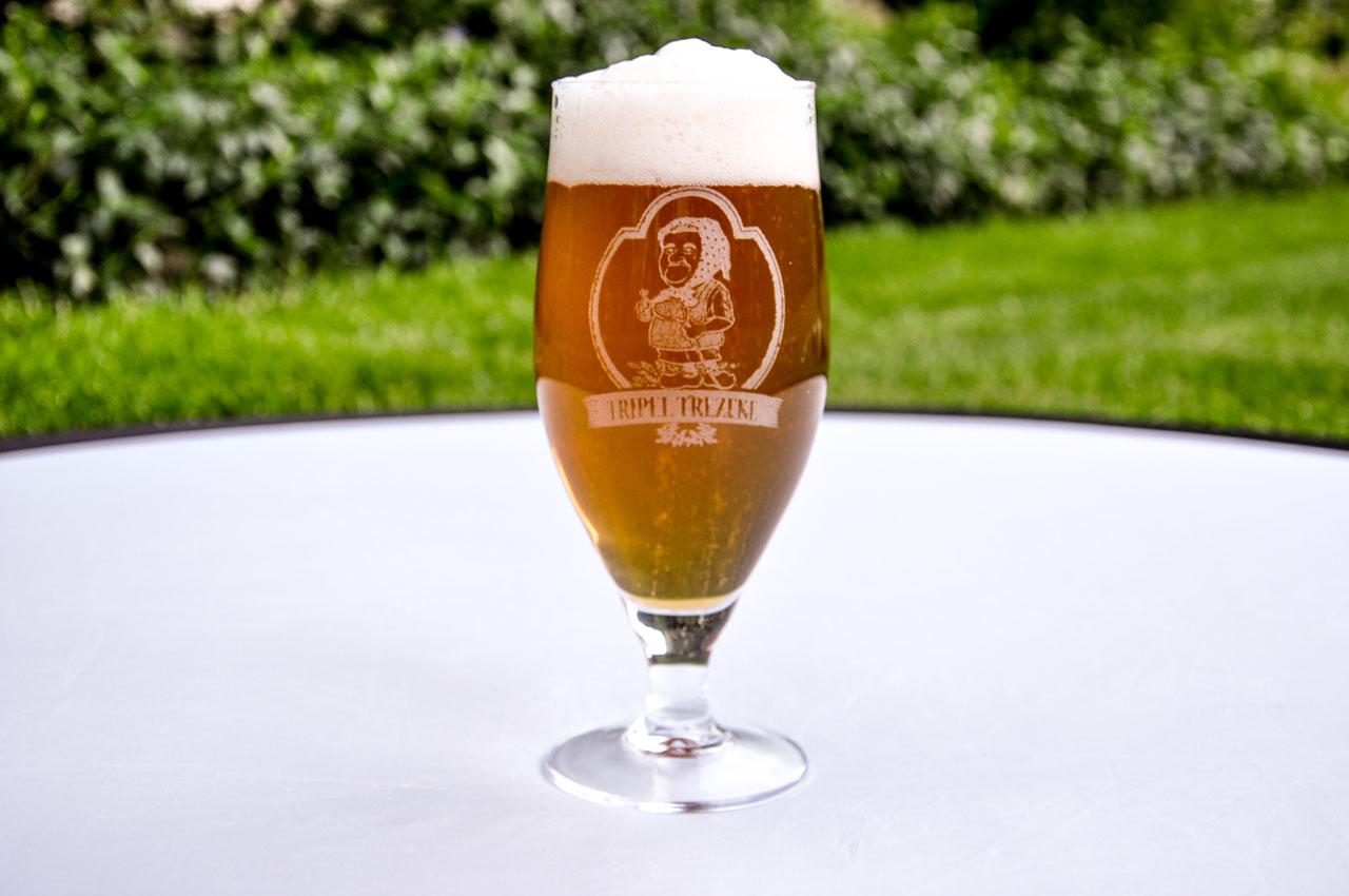 Tripel Trezeke: hoppig blond bier