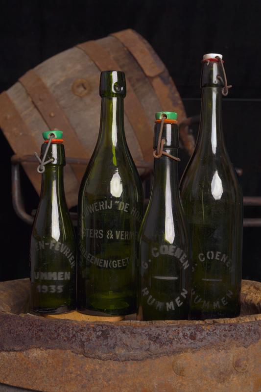 Flessen Brouwerij Coenen - Tripel Trezeke Geetbets en Rummen