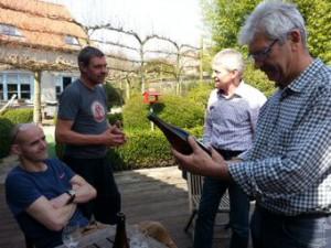 Marc de brouwer van Brouwerij Den Triest doet uit de doeken hoe streekbier Tripel Trezeke gebrouwen werd.