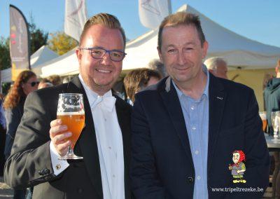 dsc_0331Tripel Trezeke en de Ideale Wereld maakten een fijne dag van de opening van de Gulden Hashtag Walk of Fame in Geetbets