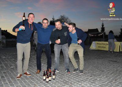 Tripel Trezeke en de Ideale Wereld maakten een fijne dag van de opening van de Gulden Hashtag Walk of Fame in Geetbets